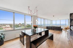 Espresso Apartments - St Kilda penthouse with panoramic Bay and City views, Apartmanok  Melbourne - big - 2