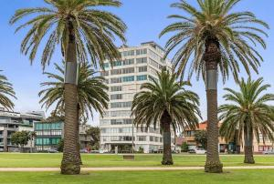 Espresso Apartments - St Kilda penthouse with panoramic Bay and City views, Apartmanok  Melbourne - big - 7