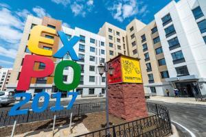 Expo Boulevard Aibek, Апартаменты  Астана - big - 5