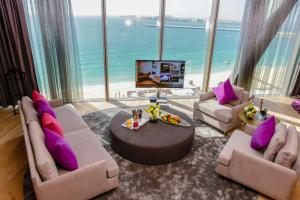 Two-Bedroom Deluxe Suite with Sea View