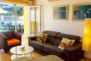 Golden Beach appartement met Pool, Apartmanok  Puerto de Mogán - big - 21