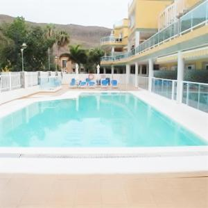 Golden Beach appartement met Pool, Apartmanok  Puerto de Mogán - big - 26