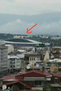 Skopje's downtown