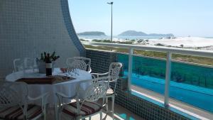 alto luxo 4 suítes churrasqueira fte ao mar, Ferienwohnungen  Cabo Frio - big - 20