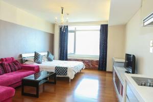 Tianjin Jinta International Xinyueyuan Hotel Apartment, Apartmány  Tianjin - big - 8