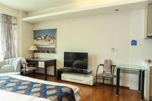 Tianjin Jinta International Xinyueyuan Hotel Apartment, Apartmány  Tianjin - big - 19