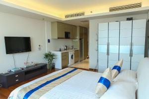 Tianjin Jinta International Xinyueyuan Hotel Apartment, Apartmány  Tianjin - big - 20