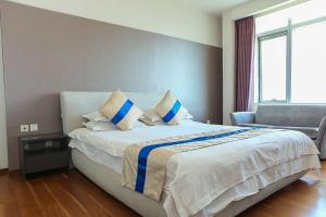 Tianjin Jinta International Xinyueyuan Hotel Apartment, Apartmány  Tianjin - big - 22