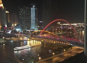 Tianjin Jinta International Xinyueyuan Hotel Apartment, Apartmány  Tianjin - big - 24
