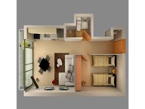 Apartamento Bacatá, Apartmány  Bogotá - big - 6