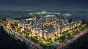 Expo Boulevard Aibek, Апартаменты  Астана - big - 12