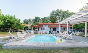 Camping Valti Houses, Apartmány  Sarti - big - 12