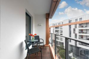 Blue Mandarin Riverside, Apartmány  Gdaňsk - big - 49