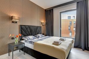 Blue Mandarin Riverside, Apartmány  Gdaňsk - big - 55