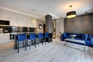 Blue Mandarin Riverside, Apartmány  Gdaňsk - big - 62