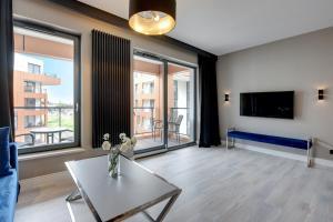 Blue Mandarin Riverside, Apartmány  Gdaňsk - big - 63