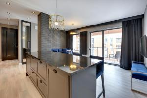Blue Mandarin Riverside, Appartamenti  Danzica - big - 64