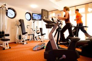 Fitness center Pension Cafe Knatter
