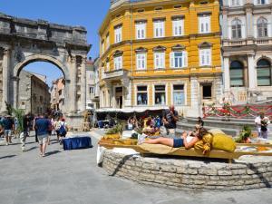 Apartment in Pula/Istrien 17400, Apartmány  Veruda - big - 10