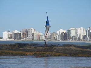 Blue Marlin Apartment, Apartments  Guarapari - big - 33