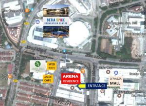 Arena Residence By Ho Yong Chang, Apartments  Bayan Lepas - big - 18