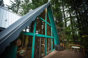 The Green A Frame, Case vacanze  Packwood - big - 15