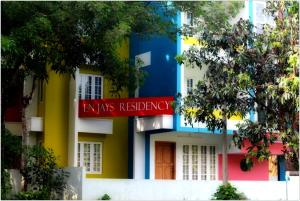 EN Jays Residency (Service Apartments), Апартаменты  Kottayam - big - 15