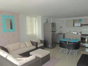 La Costa Deluxe Apartamentos - Santa Marta, Апартаменты  Puerto de Gaira - big - 37