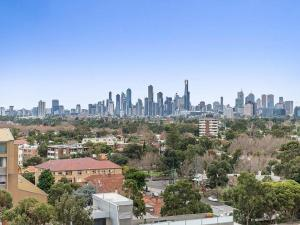 Espresso Apartments - St Kilda penthouse with panoramic Bay and City views, Apartmanok  Melbourne - big - 10