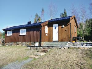 Two-Bedroom Holiday home Farsund with Sea View 01, Nyaralók  Farsund - big - 6