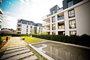 Bursztynowa Apartments, Апартаменты  Гданьск - big - 7