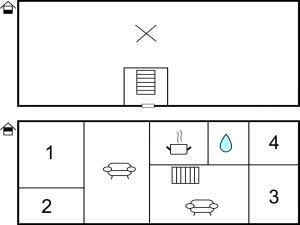 Four-Bedroom Apartment in Hemse, Ferienwohnungen  Hemse - big - 6