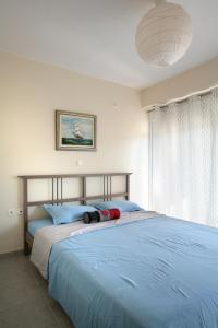 Seaside Maisonette in Afroditi Apartments, Ville  Melission - big - 27