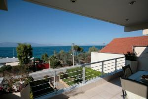Seaside Maisonette in Afroditi Apartments, Villen  Melission - big - 37