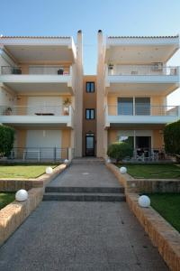 Seaside Maisonette in Afroditi Apartments, Villen  Melission - big - 36
