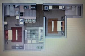 Departamento Vicuña Mackenna, Appartamenti  Santiago - big - 2