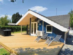 Holiday home Trifoliumvej Væggerløse II, Prázdninové domy  Bøtø By - big - 18