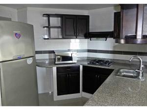 Apartamento Rodadero 24, Apartments  Santa Marta - big - 8