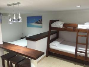 Cabañas La Fragata, Apartmánové hotely  Coveñas - big - 13