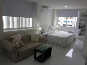 Espectaculares Vistas, Edificio Nautilus, Barrio El Laguito., Апартаменты  Картахена - big - 49