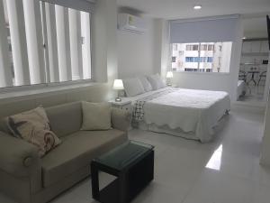 Espectaculares Vistas, Edificio Nautilus, Barrio El Laguito., Апартаменты  Картахена - big - 43