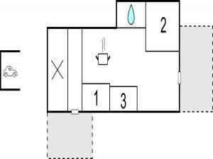 Three-Bedroom Holiday Home in Kirke Hyllinge, Dovolenkové domy  Kirke-Hyllinge - big - 10