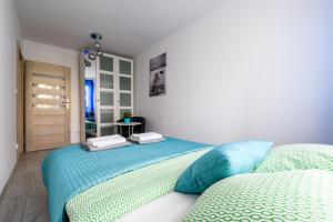 Zlota z dwoma sypialniami, Apartmanok  Varsó - big - 8
