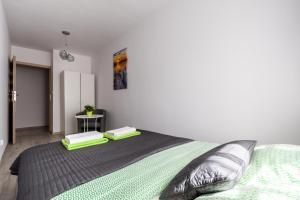 Zlota z dwoma sypialniami, Apartmanok  Varsó - big - 5