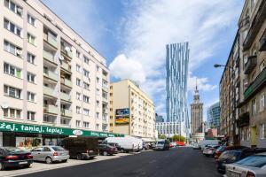 Zlota z dwoma sypialniami, Apartmanok  Varsó - big - 1