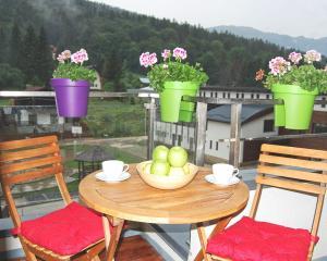 Maison Turquoise, Ferienwohnungen  Sinaia - big - 2