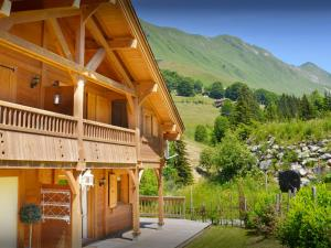 Chalet L'Ours Blanc, Horské chaty  Le Grand-Bornand - big - 20