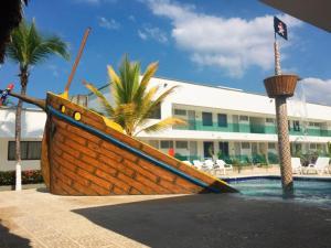 Cabañas La Fragata, Apartmánové hotely  Coveñas - big - 9