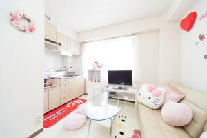 Dotonbori Sixteen Apartment, Apartments  Osaka - big - 67