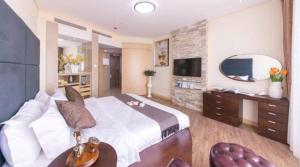 Estay ApartHotel Weihai Jinsha International, Residence  Weihai - big - 4
